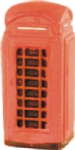 Harburn Hamlet SS 340 Red telephone box (traditional K6 type)
